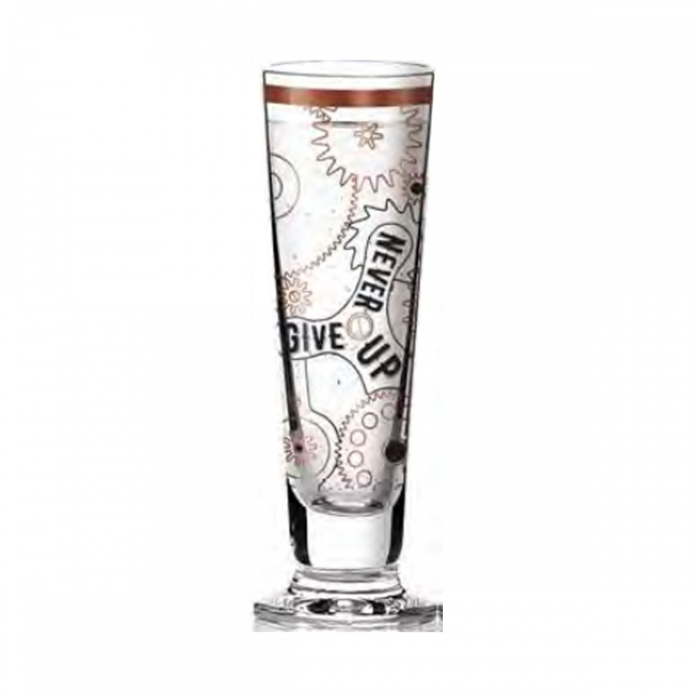 Black Label Glass Shut Never Give Up