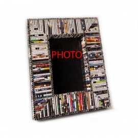 Decor Newspaper Stripes Photo And Picture Frame