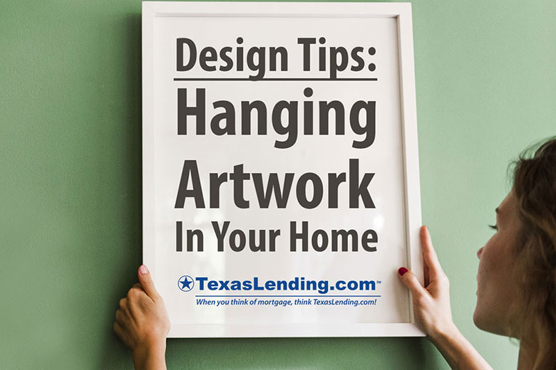 How to Hang Art Work
